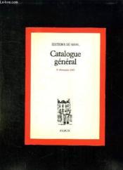 Catalogue General 31 Decembre 1987. - Couverture - Format classique