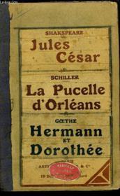 Jules Cesar - La Pucelle D'Orleans - Hermann Et Dorothee - Couverture - Format classique