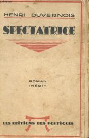 Spectatrice - Couverture - Format classique