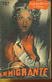 Les Grandes Passions A L'Ecran - L'Emigrante - Couverture - Format classique