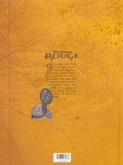 Poème rouge t.1 ; Eliska - 4ème de couverture - Format classique