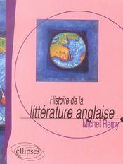 Histoire De La Litterature Anglaise - Intérieur - Format classique