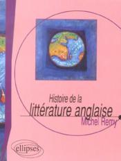 Histoire De La Litterature Anglaise - Couverture - Format classique