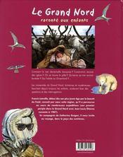 Le grand Nord raconté aux enfants - 4ème de couverture - Format classique