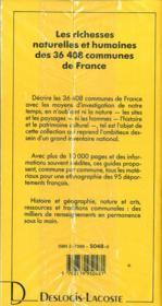 Vvf 48 lozere - 4ème de couverture - Format classique