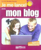 Mon Blog - Intérieur - Format classique