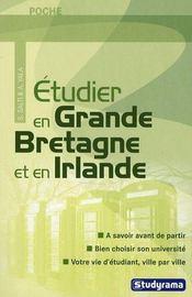 Étudier en Grande Bretagne et en Irlande - Intérieur - Format classique