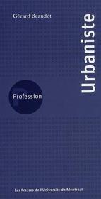 PROFESSION ; profession urbaniste - Intérieur - Format classique