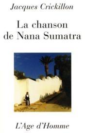 La Chanson De Nana Sumatra - Couverture - Format classique