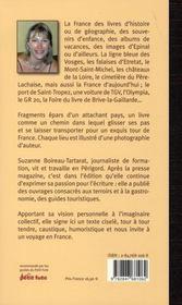 La france de suzanne - 4ème de couverture - Format classique