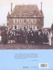 La vie dans les chateaux francais ; du moyen age a nos jours - 4ème de couverture - Format classique
