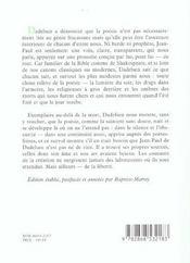 Goethe en Alsace - 4ème de couverture - Format classique
