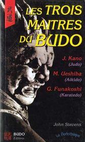 Les Trois Maitres Du Budo - Intérieur - Format classique