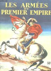 Les Armes Du Premier Empire - Albums De Vignette Autocollantes - Couverture - Format classique