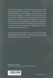 Enseigner Le Biographique Au Lycee - 4ème de couverture - Format classique