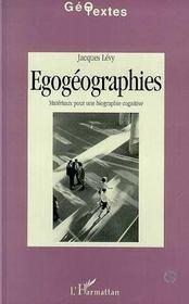 Egogeographie - Intérieur - Format classique