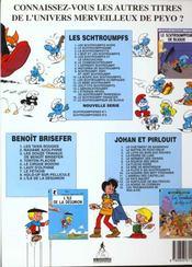 Schtroumpferies t.2 - 4ème de couverture - Format classique
