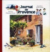 Journal de provence - Couverture - Format classique