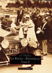 La Baule-Escoublac t.2 - Couverture - Format classique