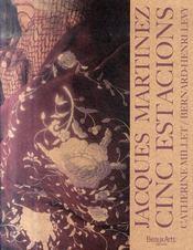 Jacques Martinez ; cinc estacions - Intérieur - Format classique