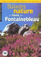 Balades Nature En Foret De Fontainebleau - Intérieur - Format classique