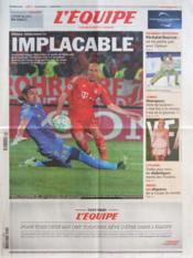Equipe (L') N°21079 du 29/03/2012 - Couverture - Format classique