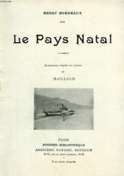 Le Pays Natal. Collection Modern Bibliotheque. - Couverture - Format classique
