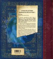 Les lettres des fées séchées de Lady Cottington - 4ème de couverture - Format classique