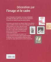 Decoration Par L'Image Et Le Cadre - 4ème de couverture - Format classique