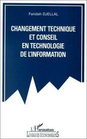 Changement technique et conseil en technologie de l'information - Intérieur - Format classique