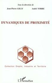 Dynamiques De Proximite - Couverture - Format classique