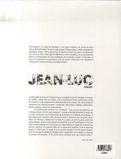 Jean-luc parant - 4ème de couverture - Format classique
