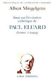 L'Evolution Esthetique P Eluard - Couverture - Format classique