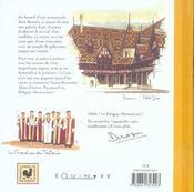 La Bourgogne ; de villages en vignobles - 4ème de couverture - Format classique