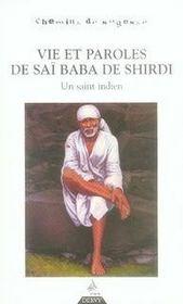 Vie et paroles de saï baba de shirdi ; un saint indien - Intérieur - Format classique