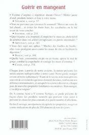 Guerir En Mangeant - 4ème de couverture - Format classique