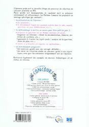 L Oral Du Concours Ifsi 3eme Edition - 4ème de couverture - Format classique