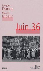 Juin 36 - Couverture - Format classique