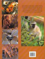 Parcs Nationaux En Afrique Australe - 4ème de couverture - Format classique
