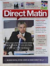 Direct Matin N°1061 du 30/03/2012 - Couverture - Format classique