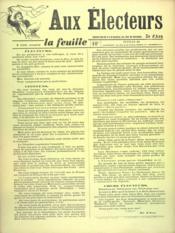 Feuille De Zo D'Axa (La) N°10 - Intérieur - Format classique