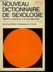 NOUVEAU DICTIONNAIRE DE SEXOLOGIE (SEXOLOGIA-LEXIKON) - Tens-Z - Couverture - Format classique