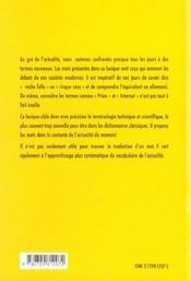 Les Mots Du Xxie Siecle Lexique Francais-Allemand Allemand-Francais Sciences Techniques Societe - 4ème de couverture - Format classique
