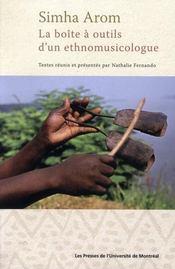 Boîte à outils d'un ethnomusicologue - Intérieur - Format classique