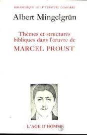Themes Structures Bibliques Proust - Couverture - Format classique