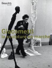 BEAUX ARTS MAGAZINE ; Giacometti, la sculpture en marche - Intérieur - Format classique