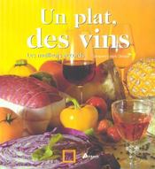 Un plat, des vins - Intérieur - Format classique