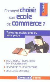 Comment choisir son ecole de commerce ? - Intérieur - Format classique