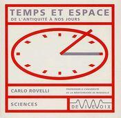 Temps et espace ; de l'Antiquité à nos jours - Intérieur - Format classique