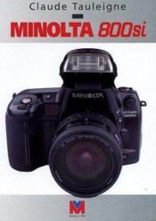 Minolta 800 si - Couverture - Format classique